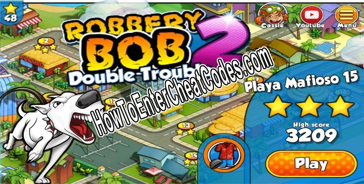 Robbery Bob 2 Hacked Coins