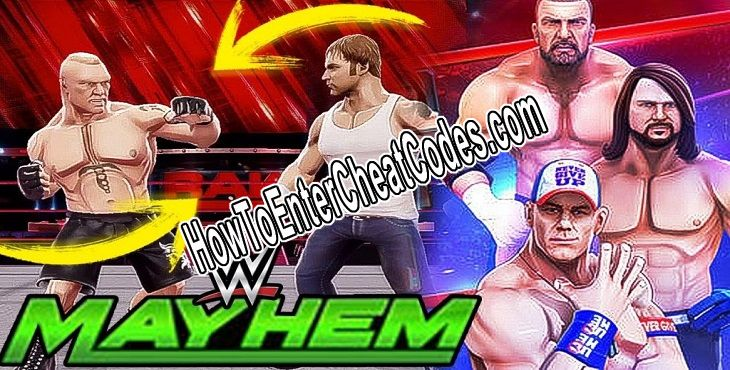 WWE Mayhem Hacked Money/Gold