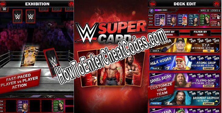 WWE SuperCard Hacked Credits