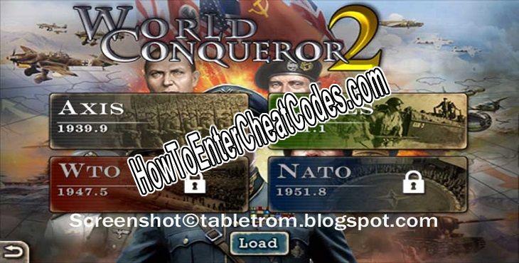 World Conqueror 2 Hacked Medals
