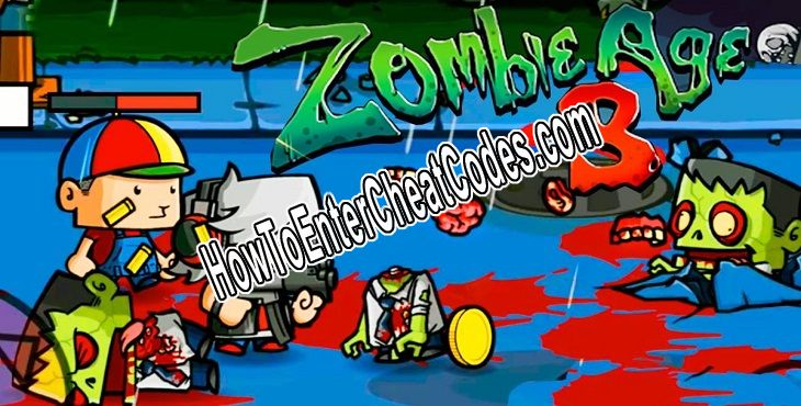 Zombie Age 3 Hacked Money and Coins