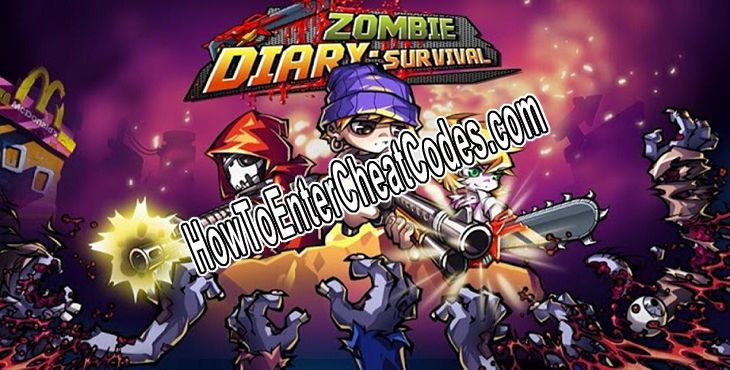 Zombie Diary Hacked Crystals/Gems and Coins