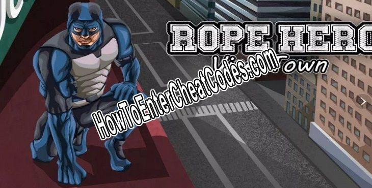 rope hero vice town Hacked Money and Health